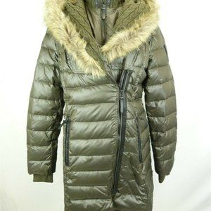 NWOT! Rudsak down winter jacket w/ fur L